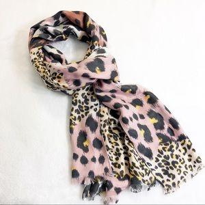 Cheetah Leopard Print Scarf